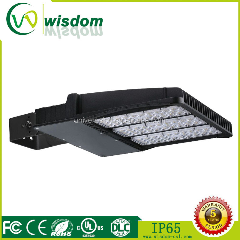300W super bright module lends design shoebox led area light for cost tennis court lights