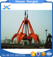 Top quality electric hydraulic grab, hydraulic log grab, excavator hydraulic rotating grab for sale