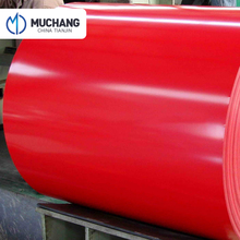 Light weight corrugated pre-painted galvanized steel sheet for sale