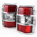For MITSUBISHI Pajero V31 V32 LED Tail Lamps 1991-1999 year Red White Color