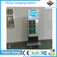 smartphone display units Mobile Phone charging station locked APC-06B