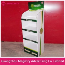 custom new style supermarket retail pop paper cardboard plastic hook display stand, acrylic display stand