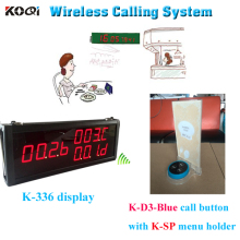 China New Model Best Price With Restaurant Service Pagers CE Guest Paging System