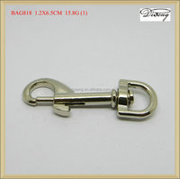 BAG818 Metal made spring swivel key chain snap hooks
