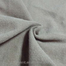 100% Polyester Tricoat Brush Fabric for pocket lining loop velvet