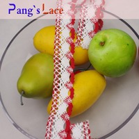 wholesale laces french crochet cord cotton ribbon guipure lace trimming