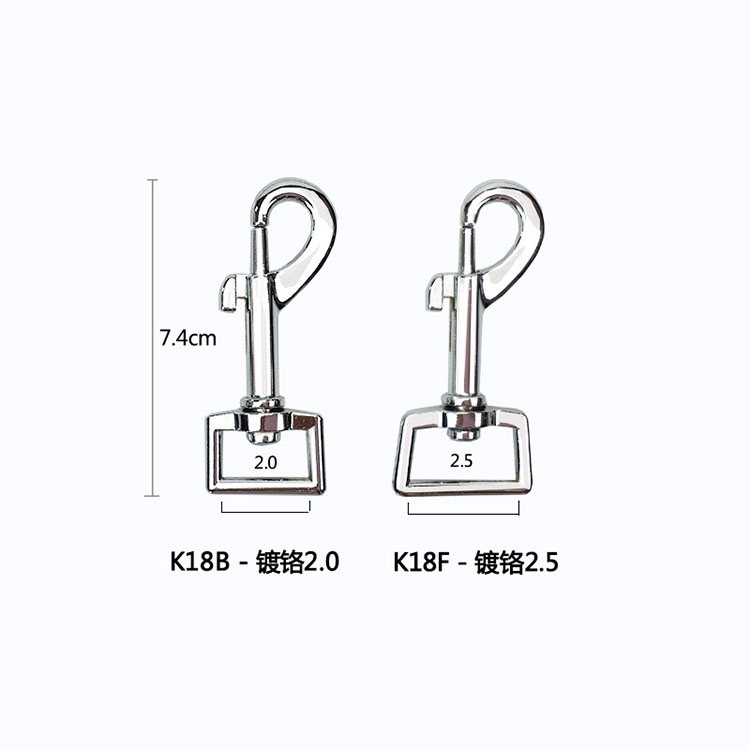 Galvanized, corrosion resistant pet products, mountaineering climbing supplies, zinc alloy wire rope hook