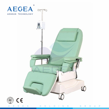 AG-XD206 CE ISO luxurious Linak motor patient blood donor dialysis electric chemotherapy chairs bed