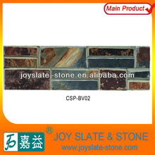Outdoor slate stone wall tiles for sale/rough stone interior wall tile/slate stone wall tiles