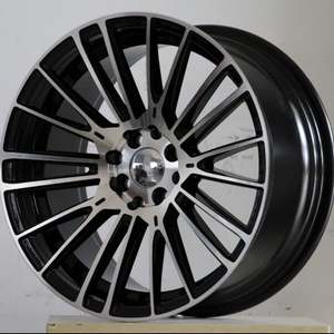 2018 new design aluminum alloy wheel 18*8.5j/9.5j aftermarket OEM high quality car rims for deep dish
