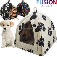 China Factory Soft Plush Fleece Fabric Dog Cat House