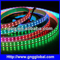 Programmed Chasing Running Multi Color Video LED Strips with Double Lines