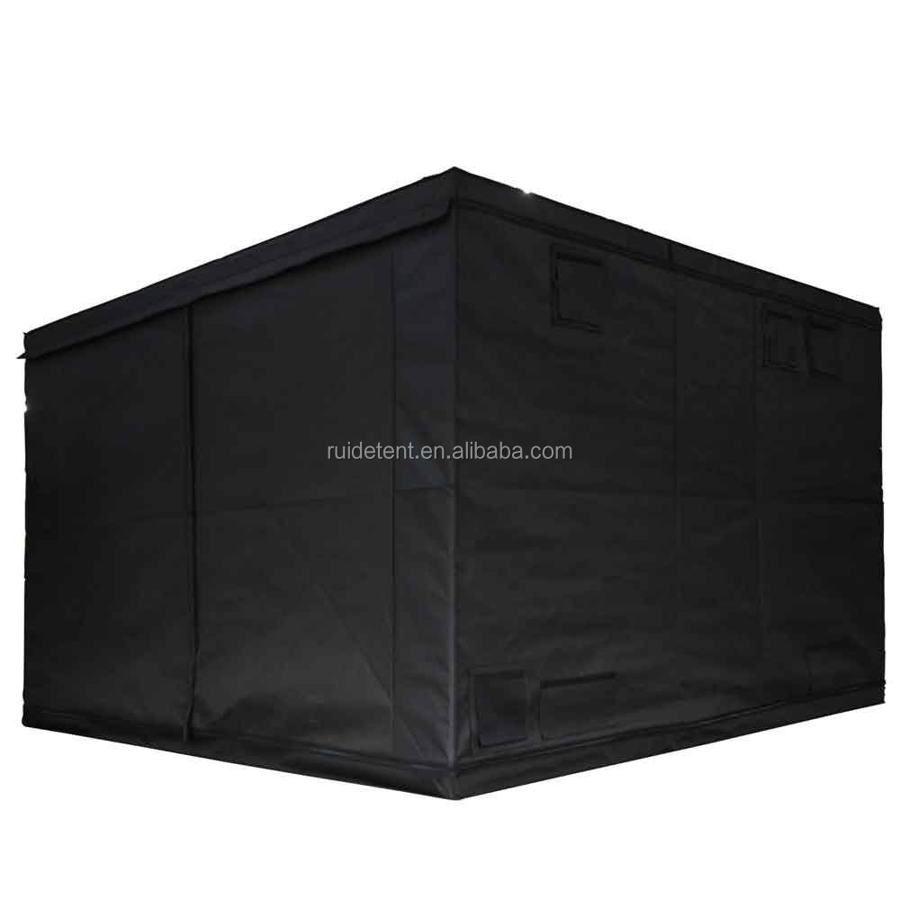 High Reflective Mylar Hydroponic Greenhouse Grow Tent complete