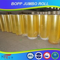opp adhesive packing tape jumbo roll good resistance