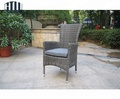 Great Durability Factory Directly High Back Rattan Chairs Garden