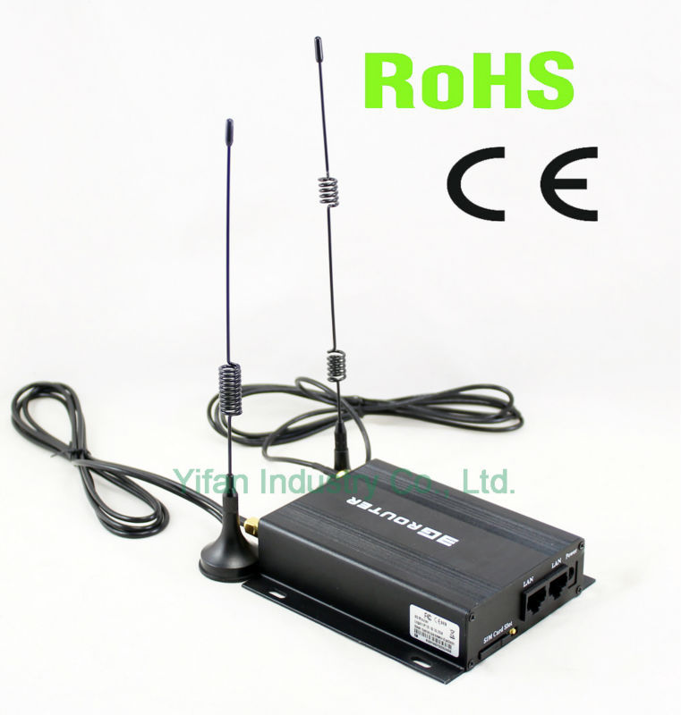 Yifan R220 Series city bus 3g wifi router with external antenna
