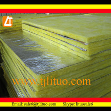 aluminum foil faced glass wool building construction material
