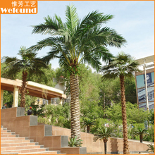 WEFOUND Customized Outdoor Decoration Artificial Phoenix Palm Trees Sales
