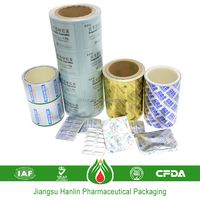 supply pharmaceutical packaging printed aluminum foil for pvc pvdc
