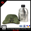 Hot sale stainless steel 304 military water canteen army mess tin for outdoor camping military