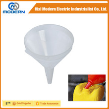 Cixi modern hign quality PP plastic auto funnel for oil