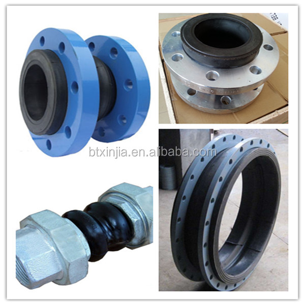 stainless bellows rubber expansion pipe joint