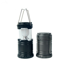 CYSHMILY Outdoor Emergency ABS AA Battery 6 Led Folding Portable Camping Lantern