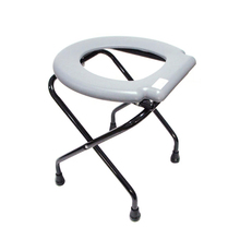 Cofoe Folding Steel Lightweight Toilet Home Care Commode Chair For Elderly