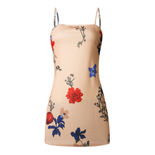 Hot new products women fashion hot sexy dress without clothes sleeve shirt dresses for digital printed