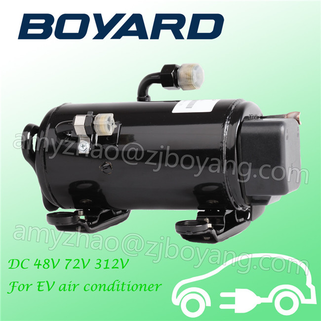 Auto parts <strong>12</strong>/24v electric <strong>compressor</strong> Electric car ac <strong>compressor</strong> for automotive air conditioning parts