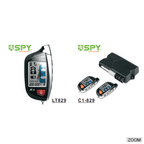 Two-way LCD car alarm,remote distance range up to 5000M