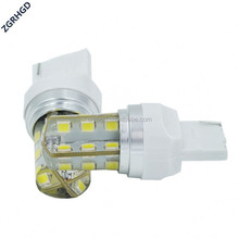 ZGRHGD White Car T20 24SMD 2835 LED Turn Signal Rear Light Bulb 12v turn light/Silicone waterproof light
