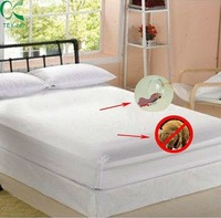 Knitted Laminated Fabric Removable Waterproof Mattress Cover with Zipper
