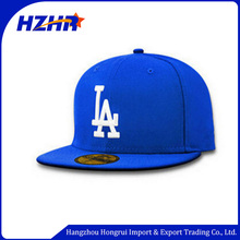 Factory Dodgers cap design blue and black colours snapback hat for Los Angeles dodgers