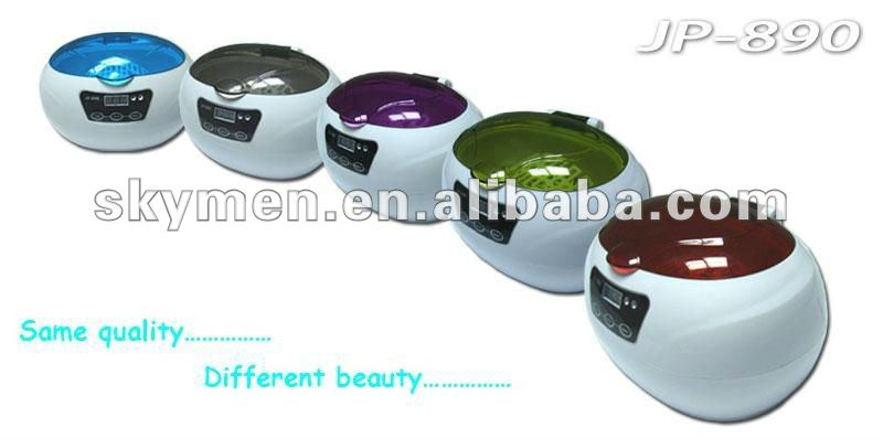nail equipment ultrasonic cleaner with colorful lid
