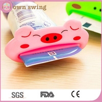 FACTORY PRICE Cute Cartoon Animal Toothpaste Squeezers/Multi-Purpose Tube Squeezer/Toothpaste Tube Squeezers