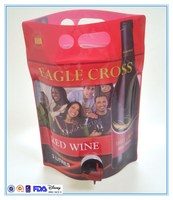 standup wine pouch