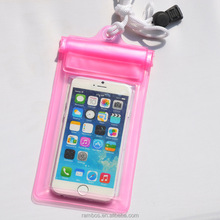 Universal Swimming Waterproof Bag Under Dry Pouch Shockproof Snowproof Phone Cases for iPhone 6S 5SE 4GS