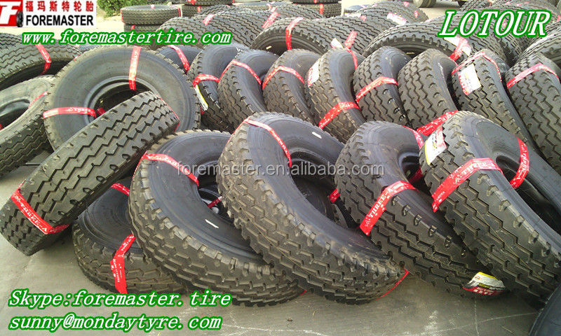 LOTOUR Brand truck tire 9.00x20