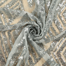 Manufacturer custom wedding dresses embroidery textile lace fabric