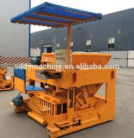Plastic hollow block paying machine with low price