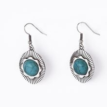 Best Prices superior quality egyptian turquoise stones earrings with fast delivery