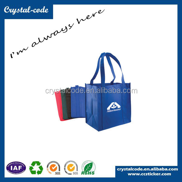 Non Woven Cloth Bags Reusable Grocery Polypropylene Advertising Shopping Bags