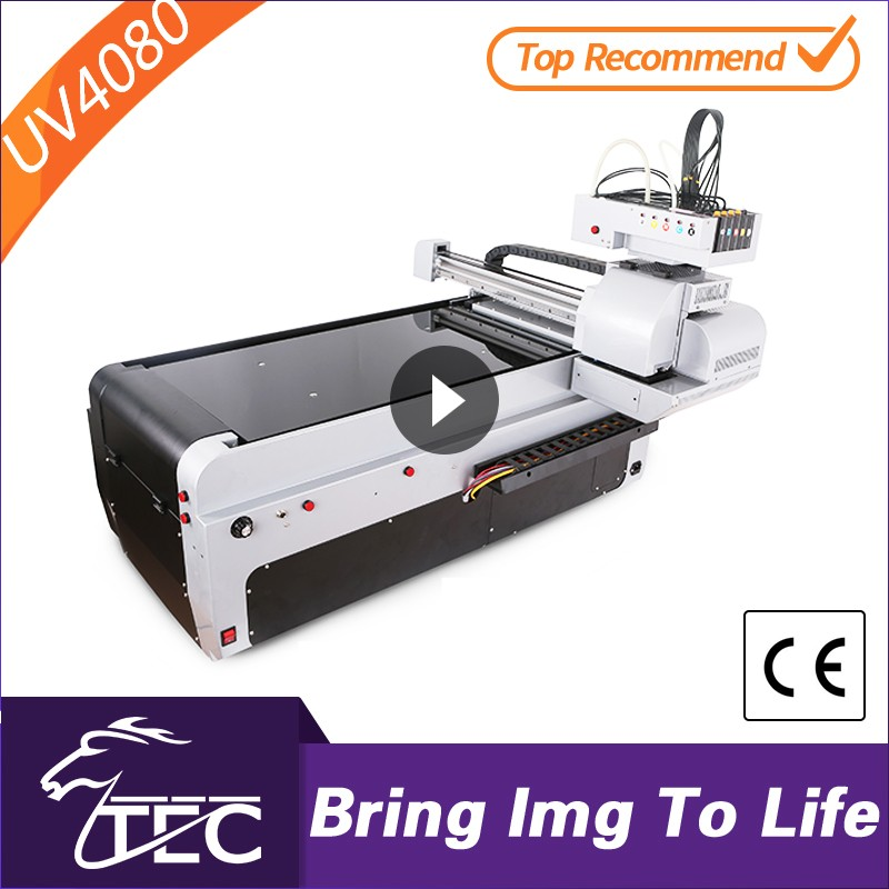 Large format uv flatbed printer with rotary attachment uv flatbed printer in guangzhou