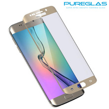 S7 edge tempered glass screen protector- antifinger print shatter proof 9H Hardness