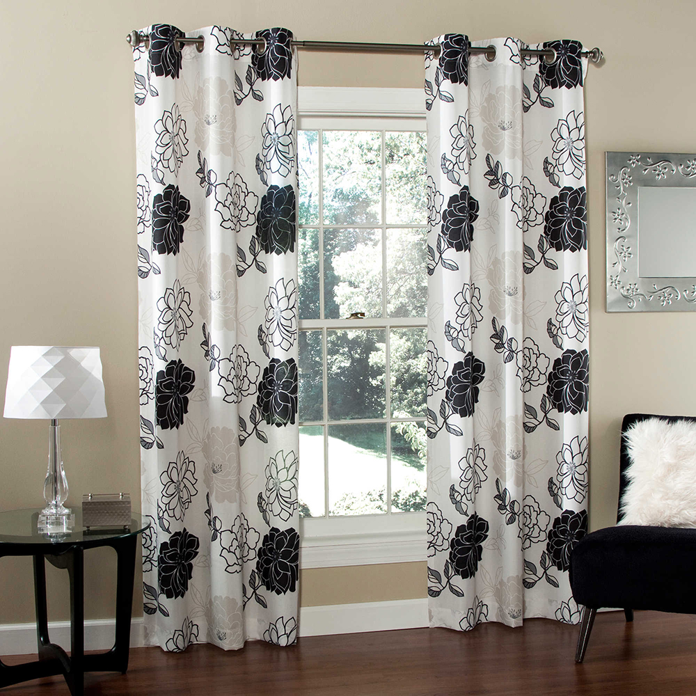 Top quality American church polyester printing curtain decor
