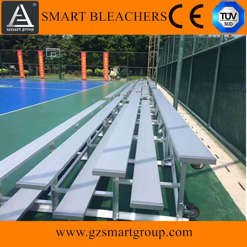 Guangzhou outdoor aluminum bleachers portable mobile grandstand for sale
