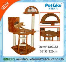 2015 wholesale new and fashion design Cat Climbing Frame for cats to play