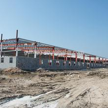 ISO9001 Certification Poultry commercial chicken house, layout pig farm construction