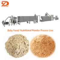 Instant Nutrition Powder Baby Food Processing